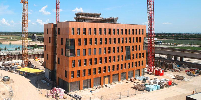 Holz in der Stadt - Gebäude