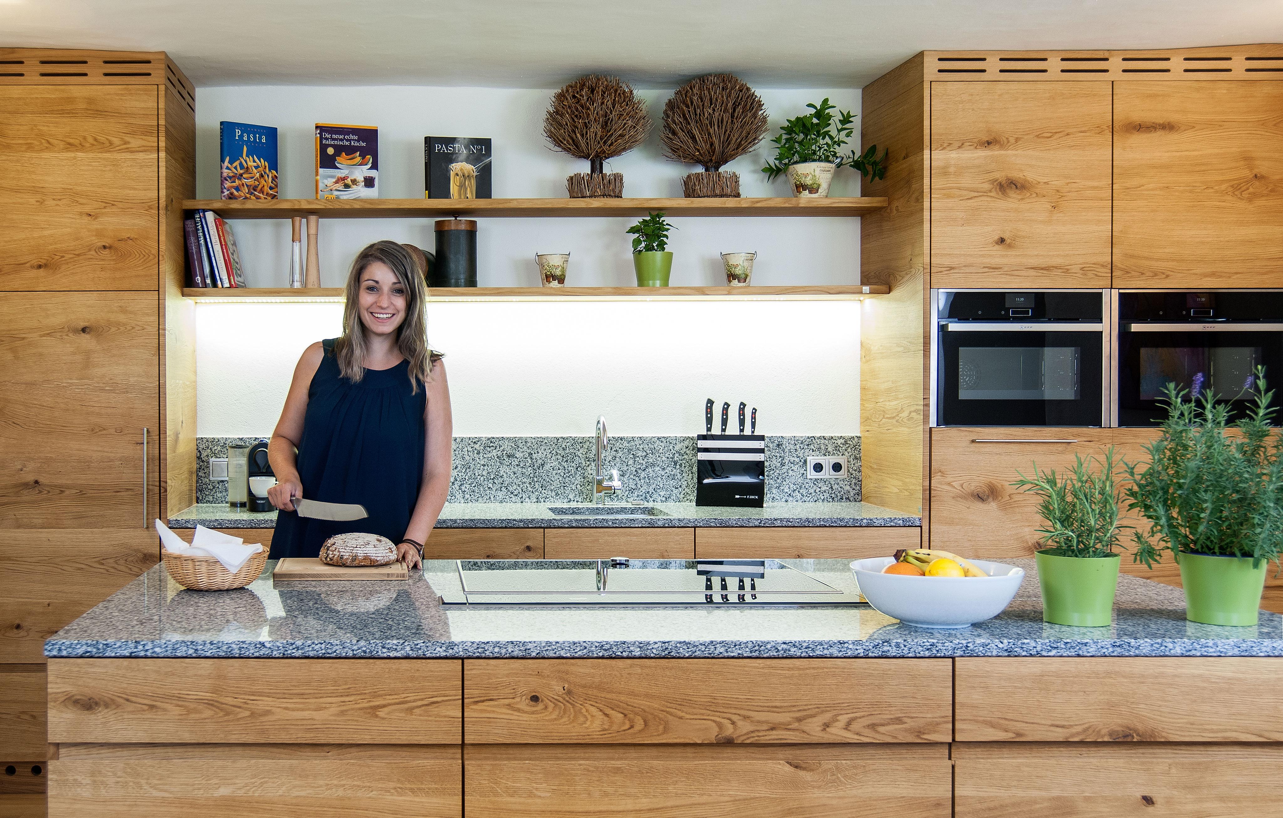 Susanne Reisenberger Wolf Küche aus Holz