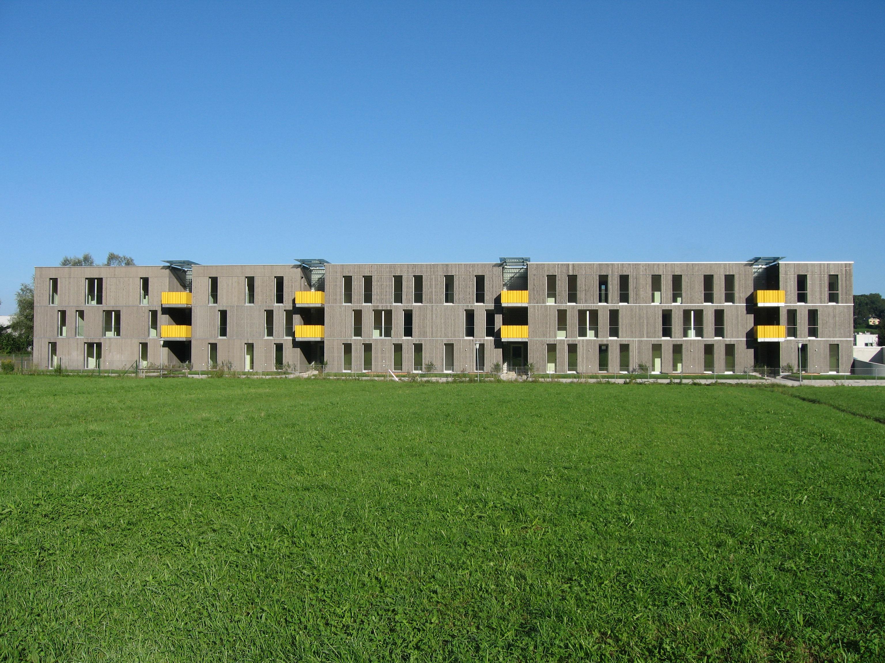 sps Architekten Reihenhäuser aus Holz