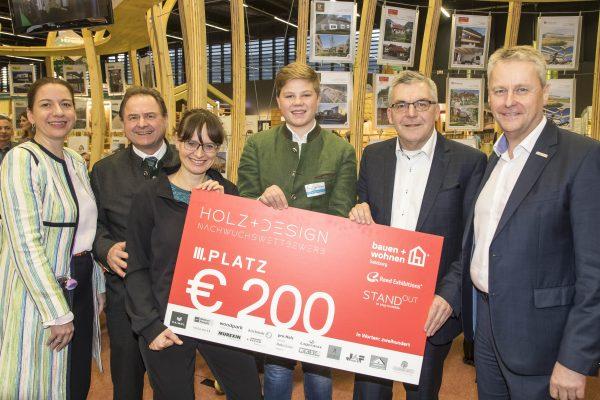 Pressefoto  Holz und Design Nachwuchswettbewerb
